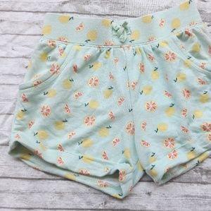 Old Navy Lemon Print Shorts